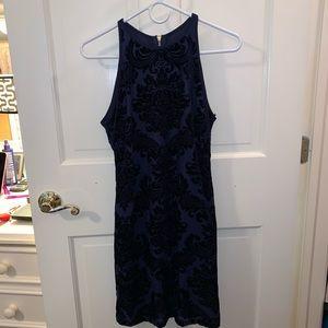 B Darlin Navy and Black dress